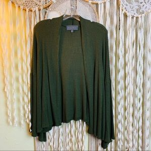 Anthropologie / Sunday in Brooklyn Green Cardigan